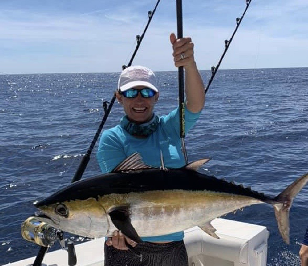 yellowfin fishing carolina beach